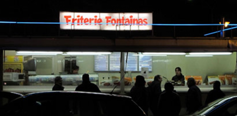 Friterie fontainas