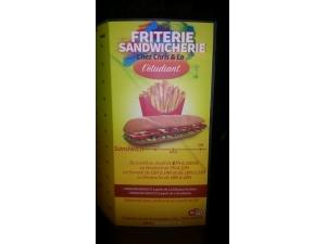 Friterie sandwicherie l'étudiant service de livraison à domicile