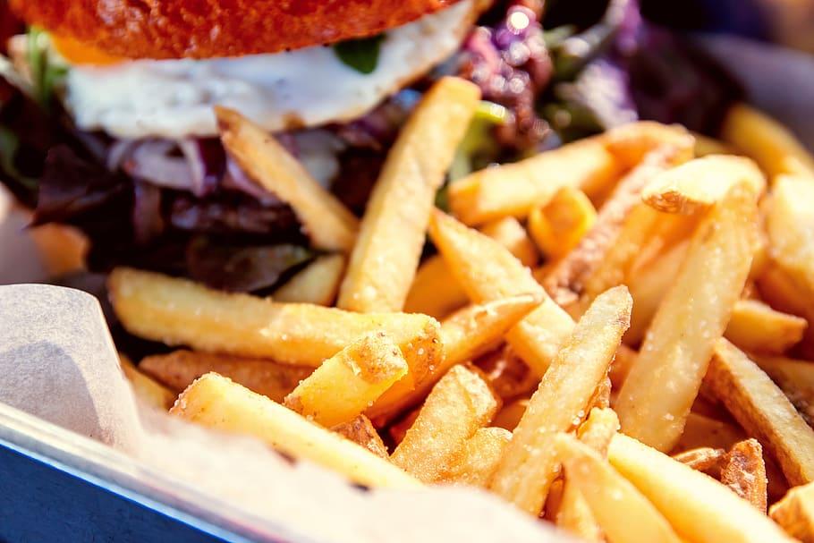 Les frites, histoire, préparation et diététique