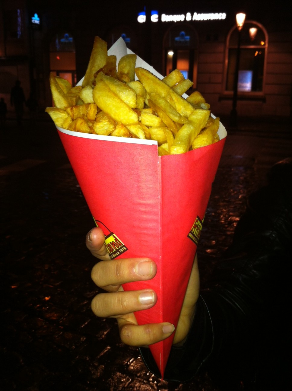 Lancement du mois de la frite à Bruxelles